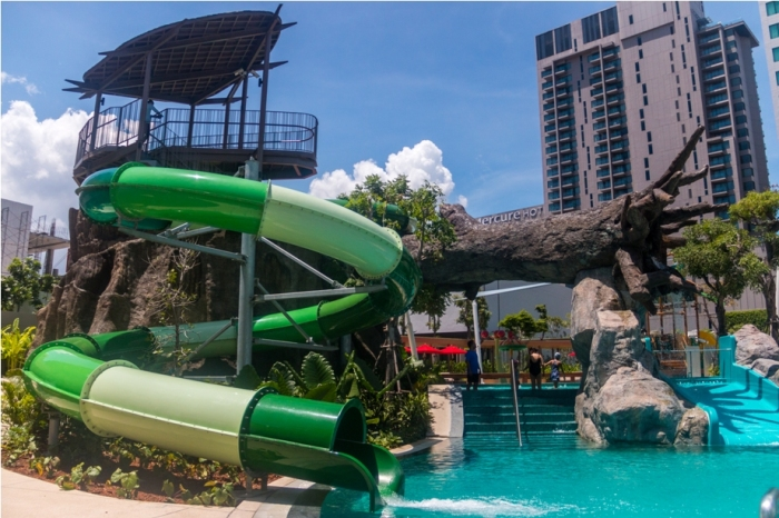 water park Amari Ocean Tower Pattaya Thailand Resort Hotel (3)