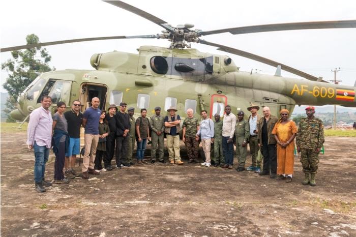 MI 17 Rusian helicopter Bahubali Uganda Africa (12)