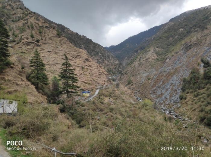 Bhagsunag waterfall Mcleodganj Dharamsala Himachal Pradesh India
