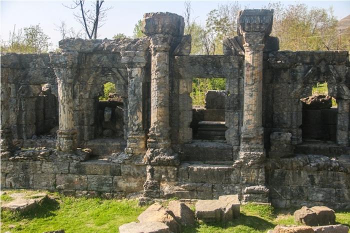 Martand Hindu Sun Temple Mattan Anantnag Srinagar Jammu and Kashmir India (10)
