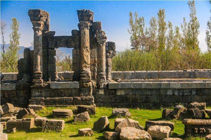 Martand Hindu Sun Temple Mattan Anantnag Srinagar Jammu and Kashmir India (12)