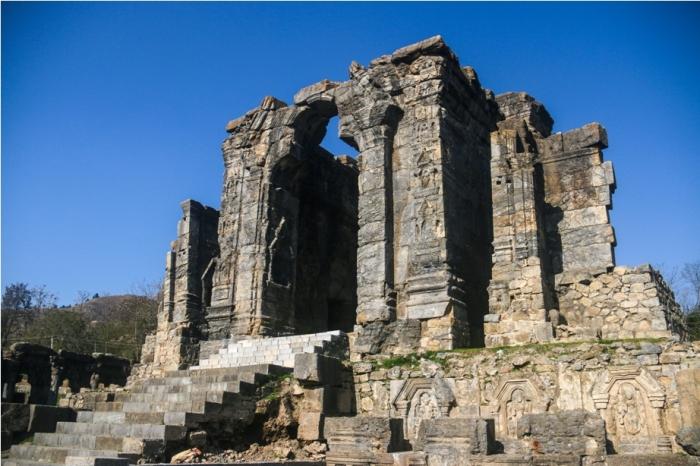 Martand Hindu Sun Temple Mattan Anantnag Srinagar Jammu and Kashmir India (13)