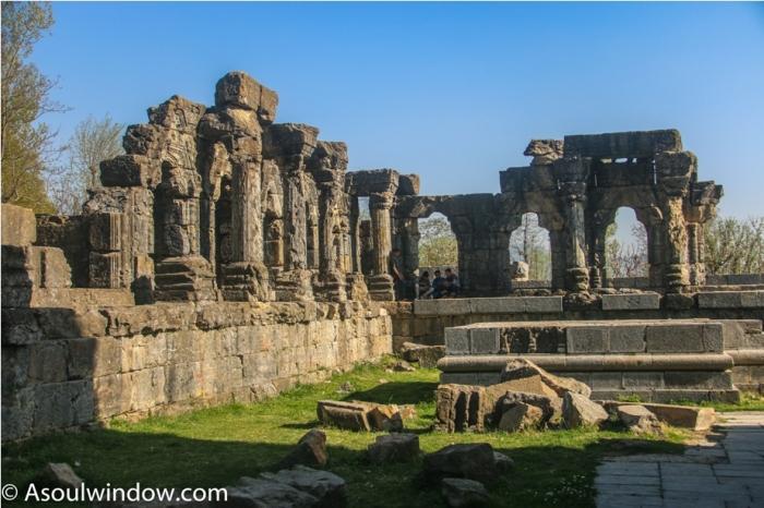 Martand Hindu Sun Temple Mattan Anantnag Srinagar Jammu and Kashmir India (31)