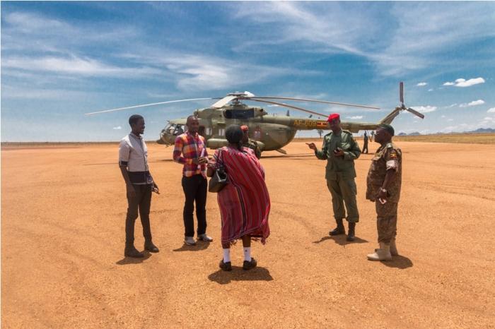 Mil MI 17 Helicopter Kidepo National Park Uganda Africa (38)