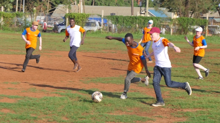 promoting euality and awareness on albinism through sports