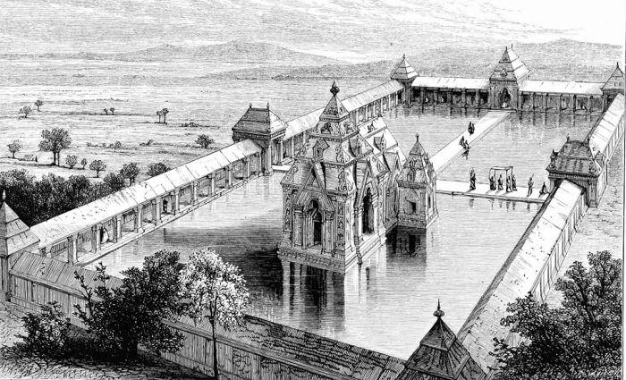 Restored Sun temple Martand Mattan Kashmir (2)