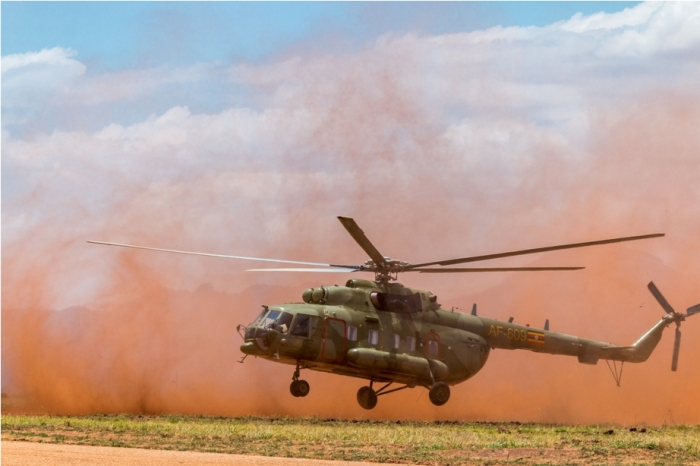 Russia Mil Mi 17 Helicopter Kidepo National Park Uganda Africa (52)