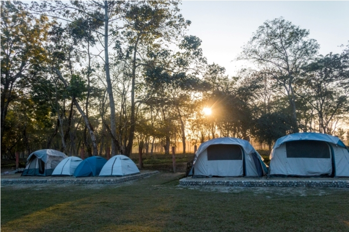 Tent Hotel Manas National Park Bodoland Assam India (13)