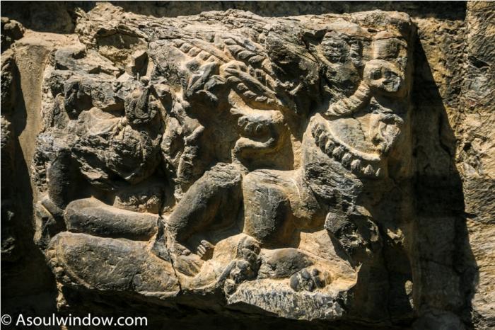 AVANTISWAMIN TEMPLE Avantipura Srinagar Hindu Kashmir (12)