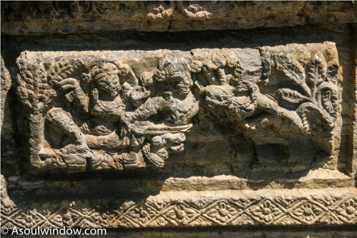 AVANTISWAMIN TEMPLE Avantipura Srinagar Hindu Kashmir (15)