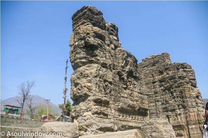 AVANTISWAMIN TEMPLE Avantipura Srinagar Hindu Kashmir (21)