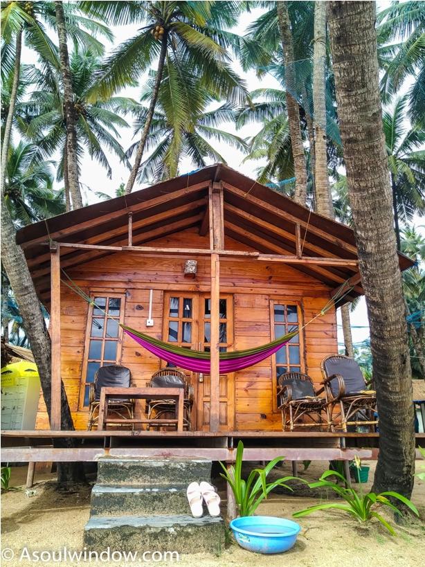Coco Beach Hut Palolem Patnem Beach south Goa India (4)