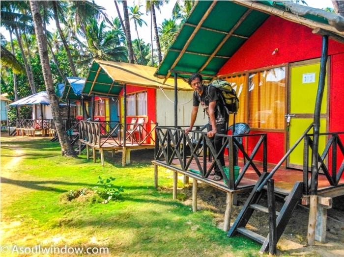 Coco hut Palolem Patnem Beach South Goa India (1)